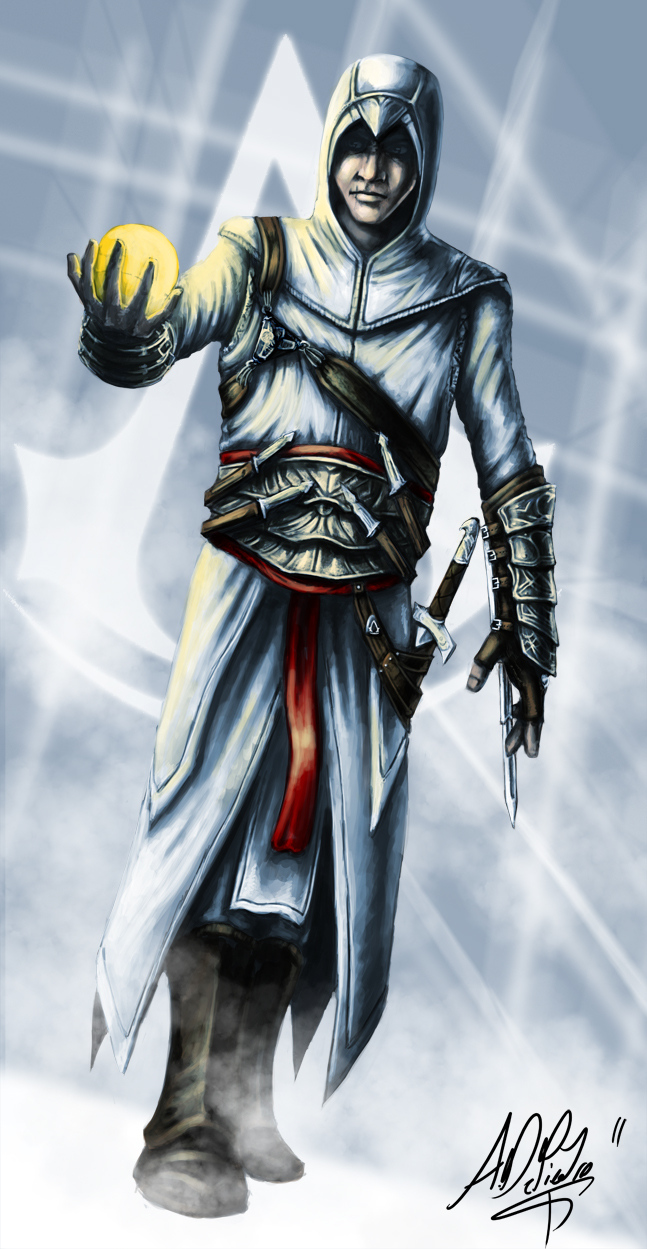 Assassin's Creed - Altair by Torvald2000 on DeviantArt: torvald2000.deviantart.com/art/assassin-s-creed-altair-212495611