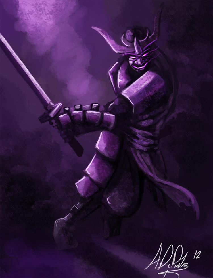 the gallery for gt demon samurai drawings