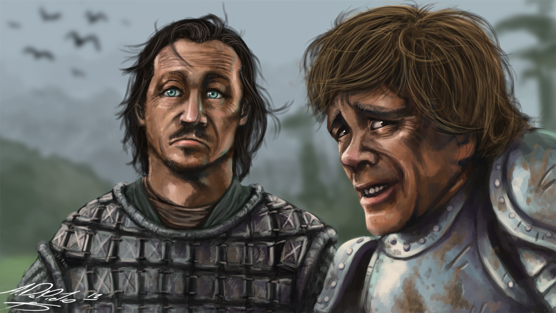 Tyrion and Bronn by Torvald2000