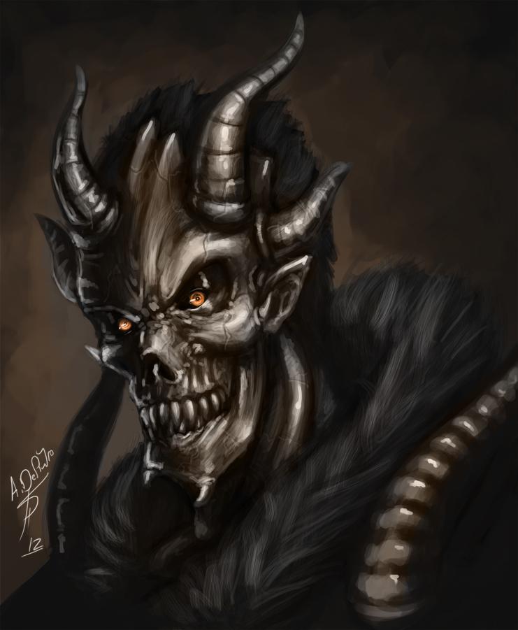 evil demon skulls wallpaper - photo #20