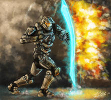 Master Chief - Halo 4 by Torvald2000