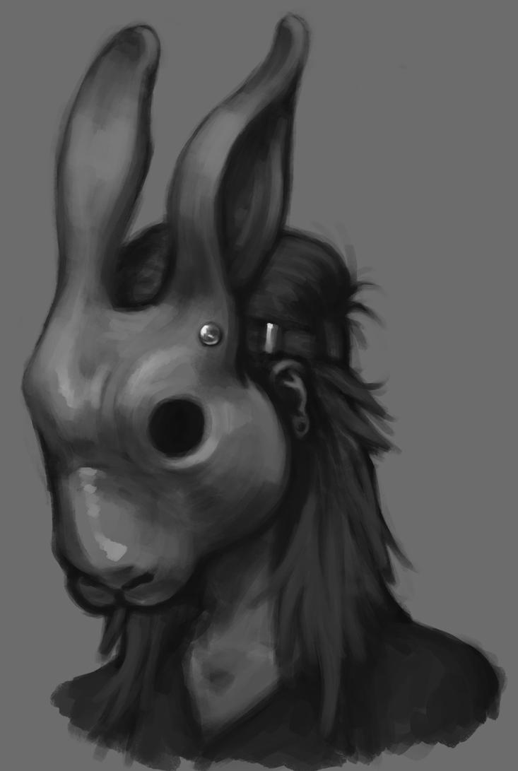 Rabbit Mask by Torvald2000