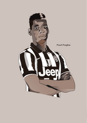 Paul Pogba by nasrzaara