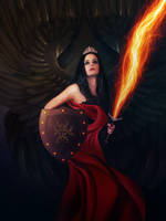 angel by nasrzaara