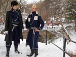 Roy and Havoc - Snow Cosplay