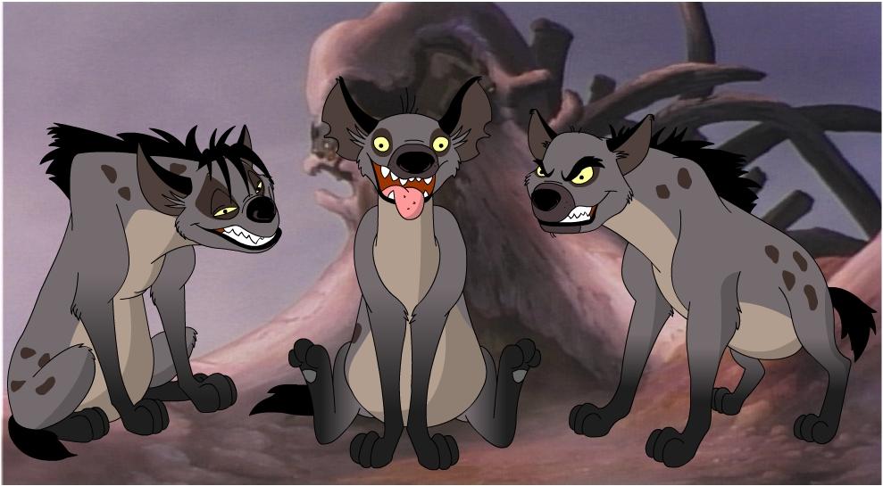 Hyena Trio by NeoCypo