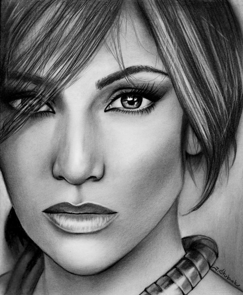 Jennifer Lopez by Mandaryna on DeviantArt