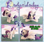 Rarity as Batpony