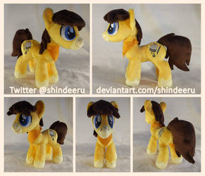 7'' OC Plushie by shindeeru