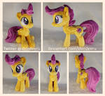 *FOR SALE* Small Scootaloo Plushie by shindeeru