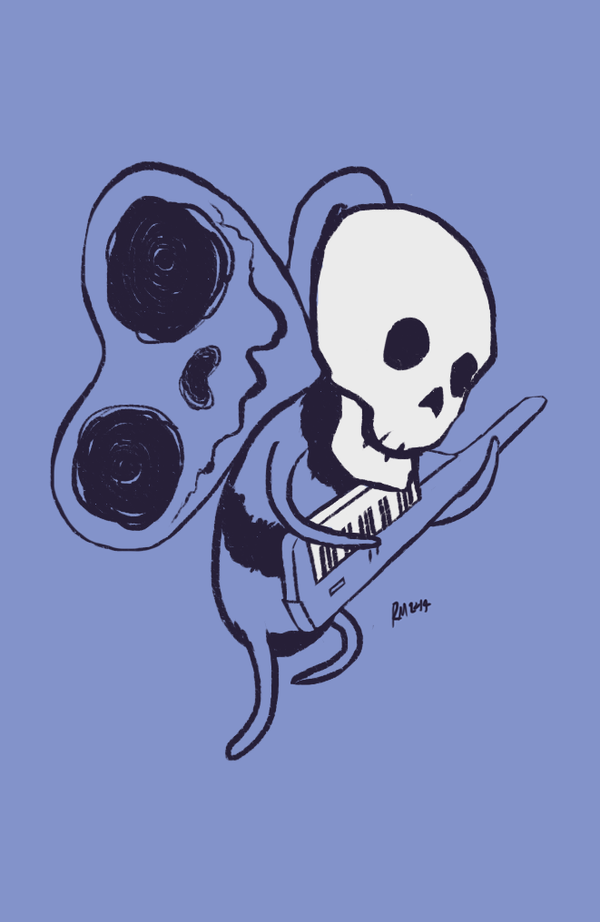 Progressive skeleton by reymonstruo