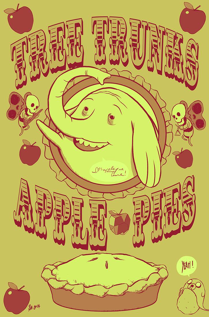 Apple pies by reymonstruo