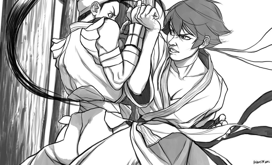 Fight BW by reymonstruo