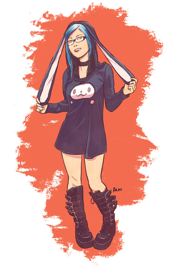 Bunny Girl by reymonstruo