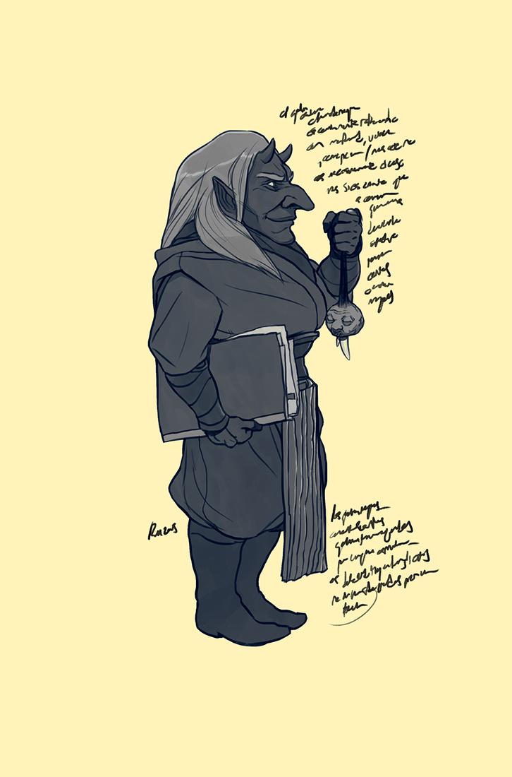 Dark Goblin by reymonstruo