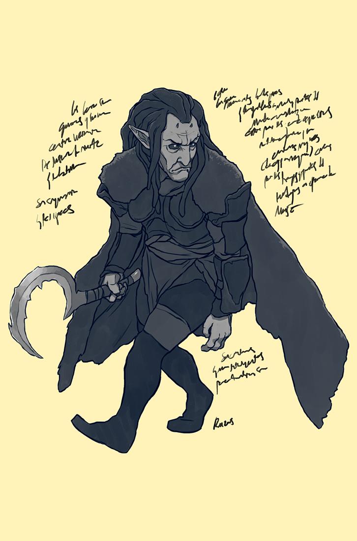 Goblin Warrior by reymonstruo