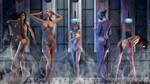 Navy Shower by HuggyBear742