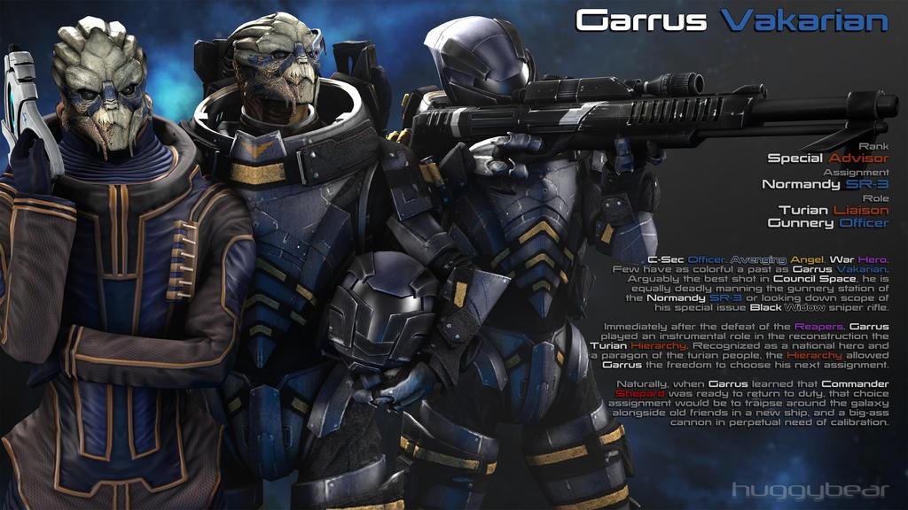 Garrus By HuggyBear742 On DeviantArt