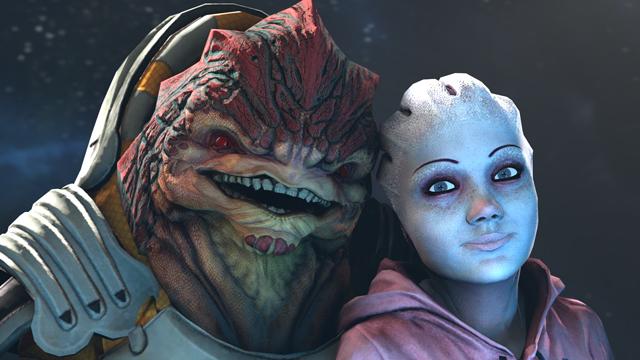 Asari Baby Mass Effect Babies Ret...