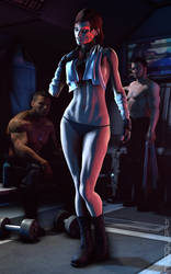 Mass Effect - Care to Dance? [CLEAN] by HuggyBear742
