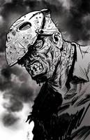 Jason Voorhees by cyclonaut