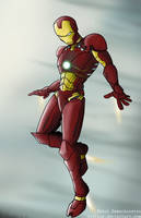 Iron Man by flitlog