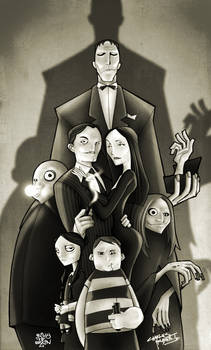 KidNotorious' Addams Family