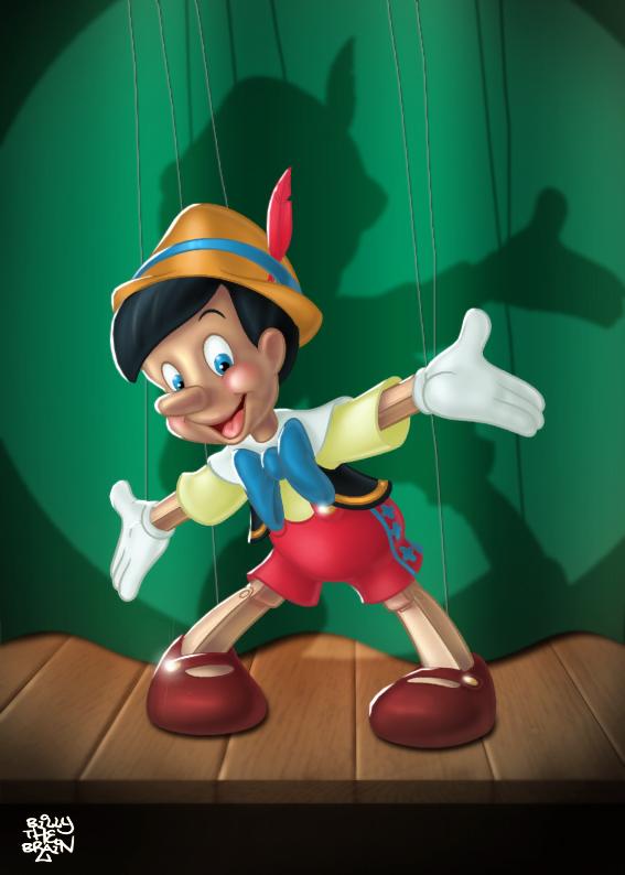 Pinocchio Colour by billythebrain