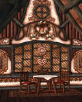 Gingerbread Dreams Background