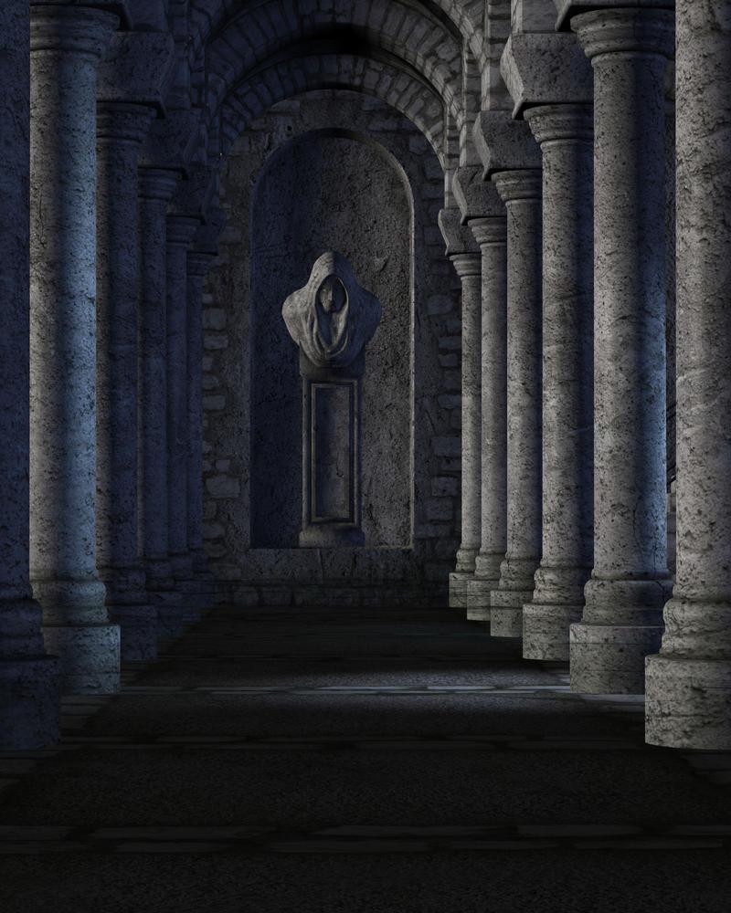 Stone Forest Background By Zememz On Deviantart