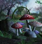 Moonlight Fantasy Background