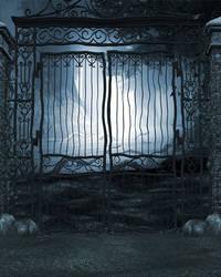 Gates of Eden Free Background by zememz