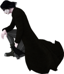 Gothic Male Stock 002