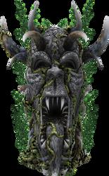 3D Grotesque Statue