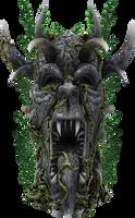 3D Grotesque Statue by zememz