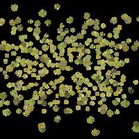 3D Leaf Swarm by zememz
