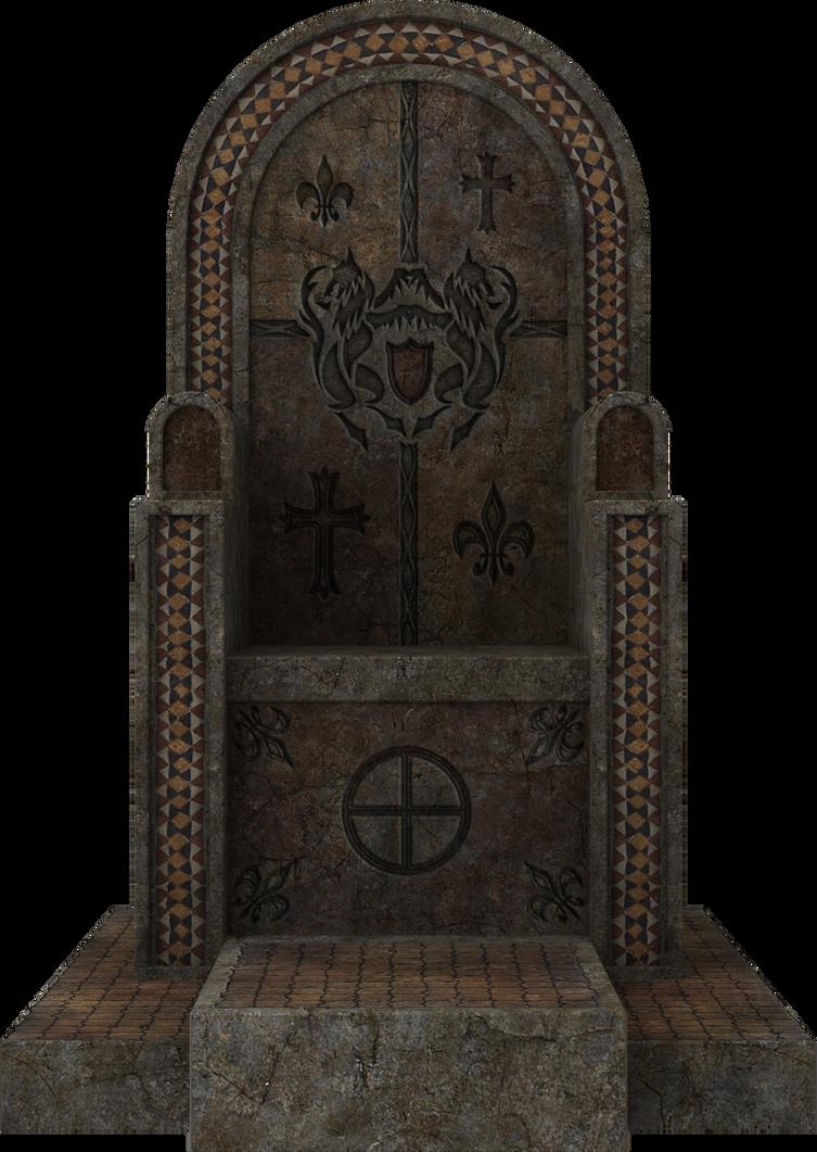 3D Throne by zememz