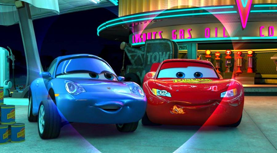 Cars  Movie Crash