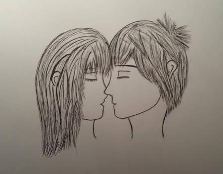 First Kiss by JorjaJo