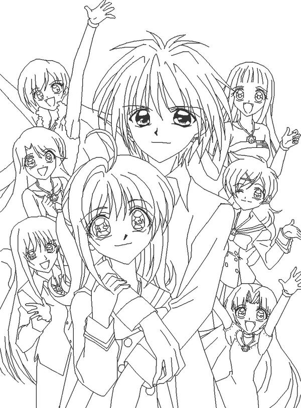 Mermaid Melody Rina Coloring Pages Coloring Pages