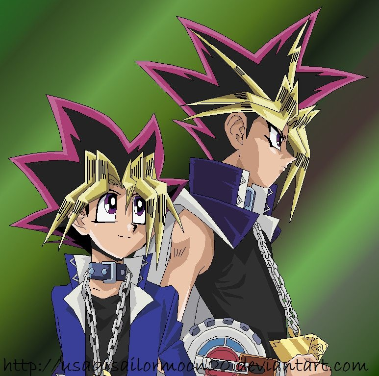YuGi And Yami Colored By Usagisailormoon20 On DeviantArt