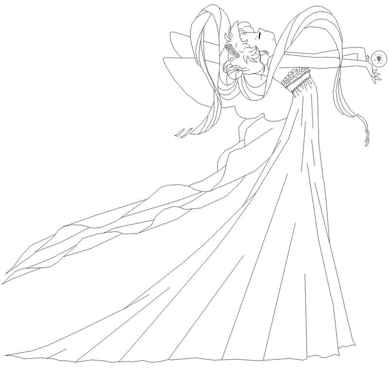queen serenity coloring pages | Neo Queen Serenity - Blank by usagisailormoon20 on DeviantArt