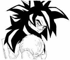 Goku from Dragonball GT by usagisailormoon20