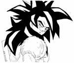 Goku from Dragonball GT