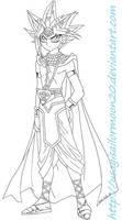 Prince Atemu From Forbidden Memories by usagisailormoon20