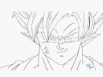 Goku From Dragonball Z by usagisailormoon20