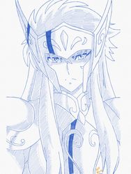 Aquarius Camus From Saint Seiya -Soul Of Gold by usagisailormoon20