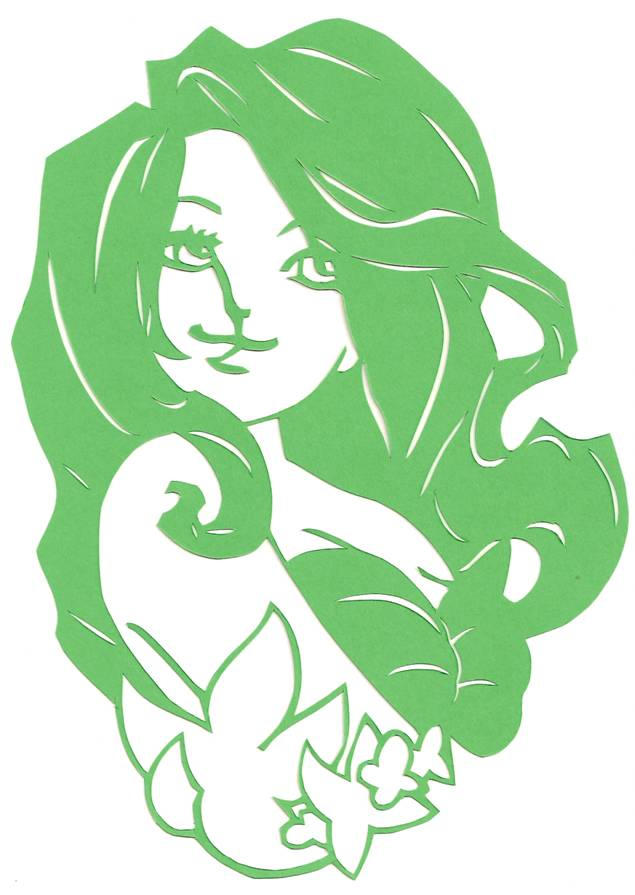 Loishs Ariel Papercut by usagisailormoon20
