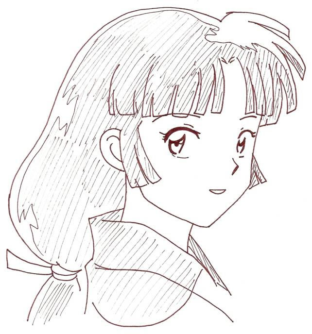 miroku coloring pages photo48