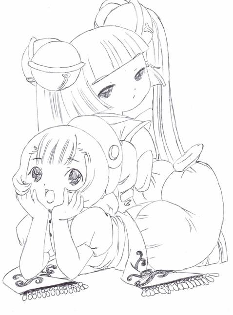 Sumomo And Kotoko From Chobits By Usagisailormoon20